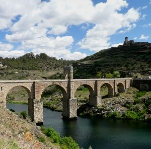 The Roman Bridge of Alcantara