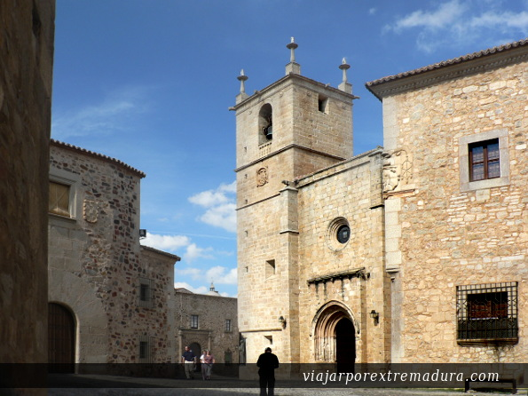 Caceres medieval town