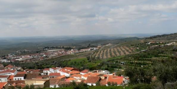 Hornachos landscape near Sierra Grande