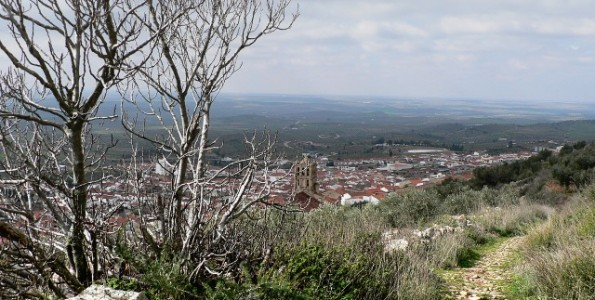 Sierra Grande de Hornachos. Landscape