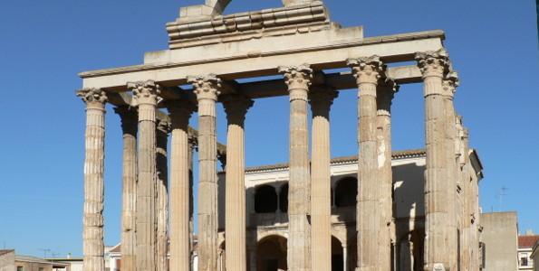 Temple of Diana in Merida