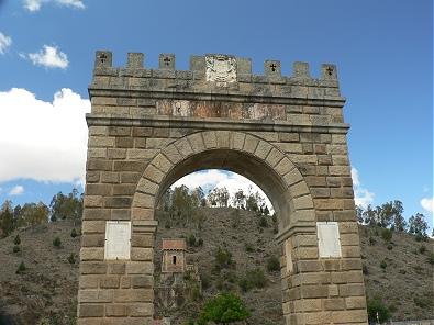 Triunph Arch in the Bridge of Alcantara
