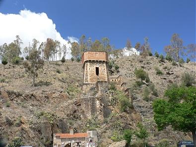 Torre del Oro near the Bridge of Alcantara